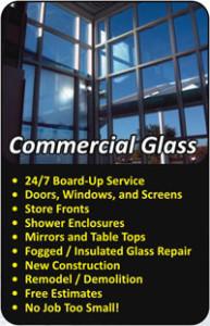 Commercial Glass Repair Colorado Flyer